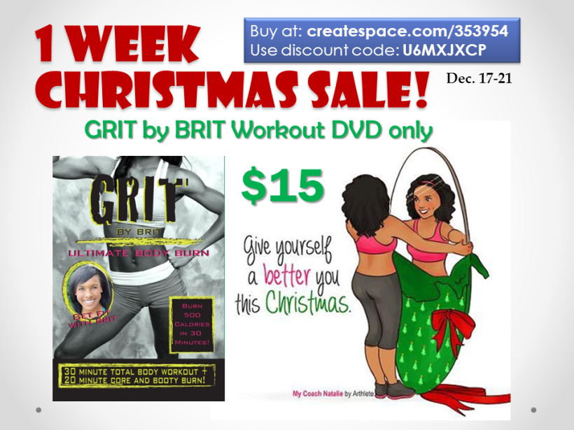 1 week christmas sale promo