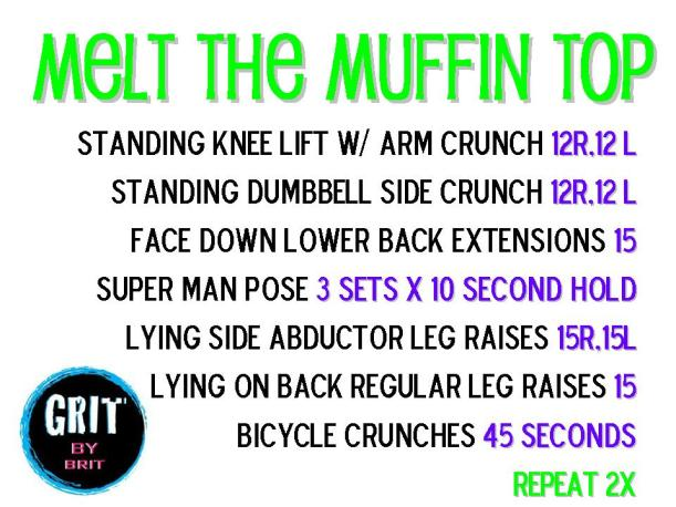 Melt the Muffin Top
