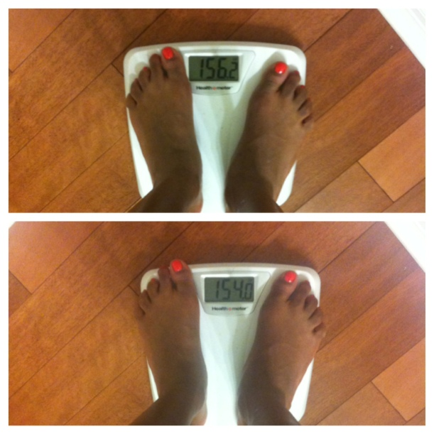 weight loss from cleansing