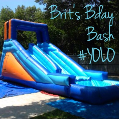 bday party water slide
