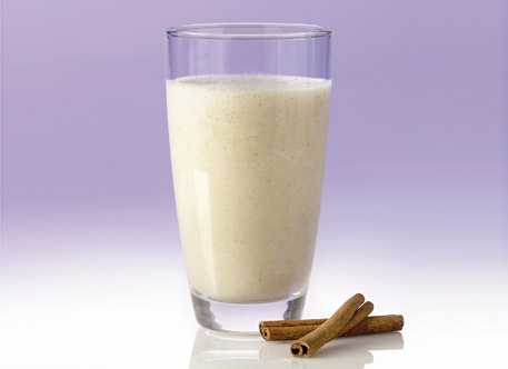 apple cinnamon soy smoothie