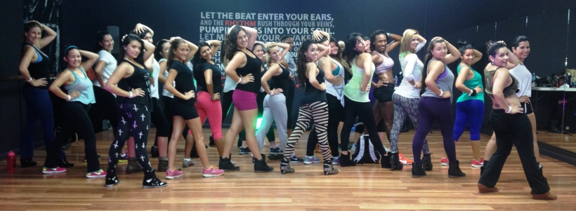 Me and the #VixenArmy after class in Miami last week!