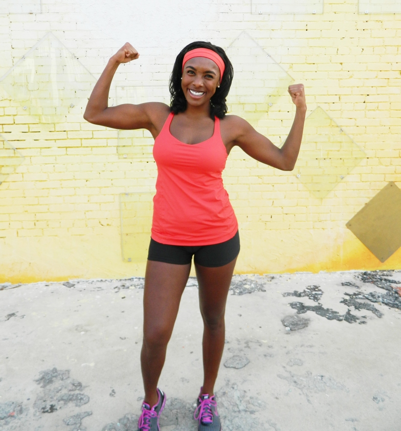 """Showin' of my """"Babalyicous"""" Biceps.  Hey, no shame in my game :)"""