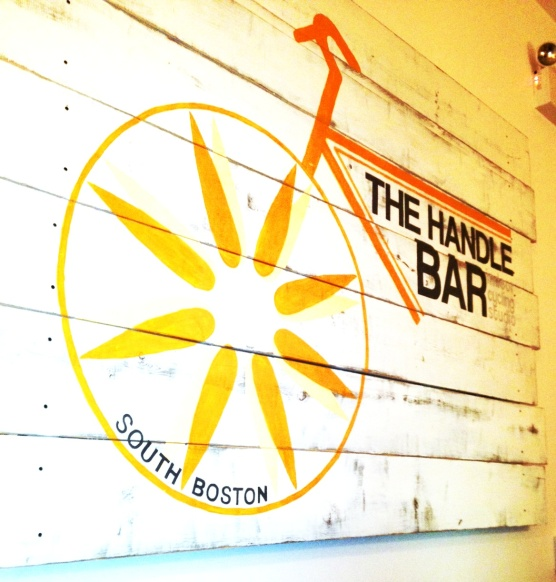 handle bar logo