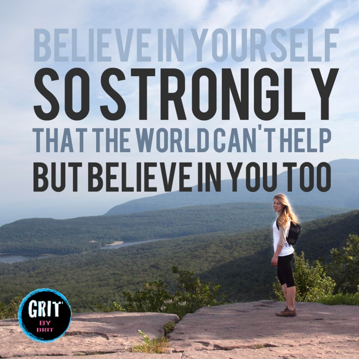 believe in yourself confidence